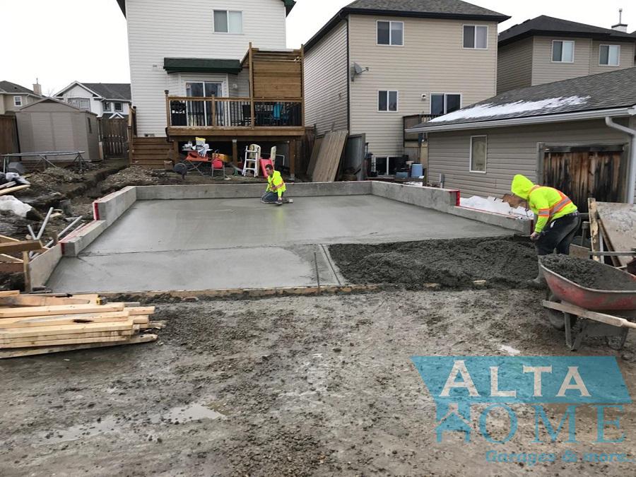 Concrete Garage Slab NW