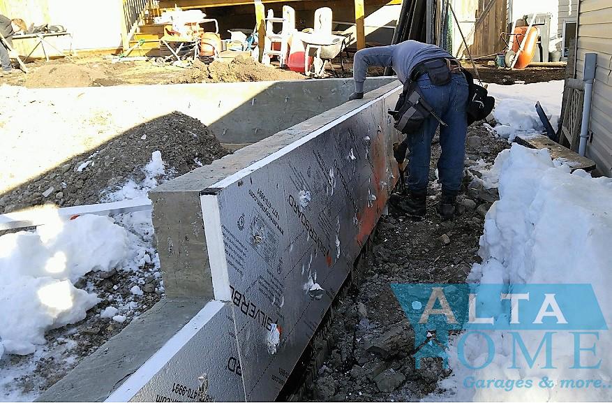 insulating concrete walls