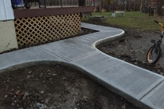 3 ft concrete sidealks