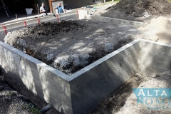 Frost Wall and Footing Concrete