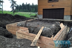Frost Wall and Footing Formwork