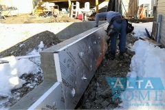 insulating concrete walls