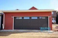 Auburn Bay Garage Custom Glass Door