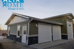Custom RV Bay 3 Car Garage Alta Home Garages
