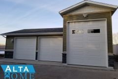 Custom RV Bay 3 Car Garage Alta Home