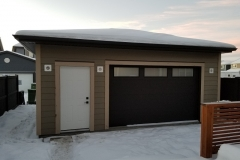 Mahogany Custom Garage Alta HOme