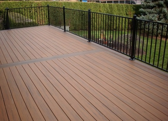 Calgary deck fence installer alta home garages more for Cost of composite decking vs pressure treated