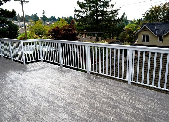 Vinyl Deck Covering