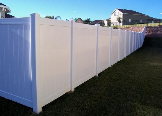 Vinyl Fence Calgary
